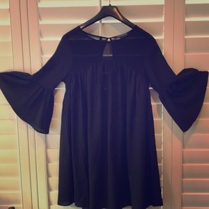 French connection black dress/long shirt